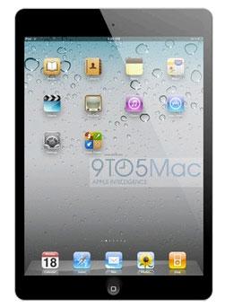 El nuevo aspecto del Mini Ipad de Apple será como un iPhone alargado